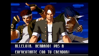 King of Fighters 2002 KUSANAGI Playthrough