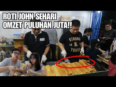 GILA!! ROTI JOHN SEHARI OMZET PULUHAN JUTA RUPIAH !! WORTH IT??
