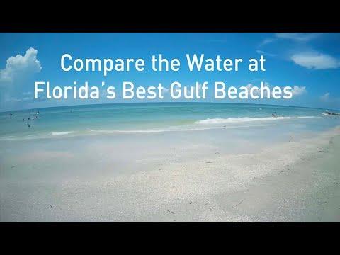 Compare Florida's Best Gulf Beaches - Siesta Key, Shell Key, Miramar Destin, Madeira Clearwater