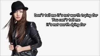 Everything I do I do it for you Charice Pempengco w Lyrics