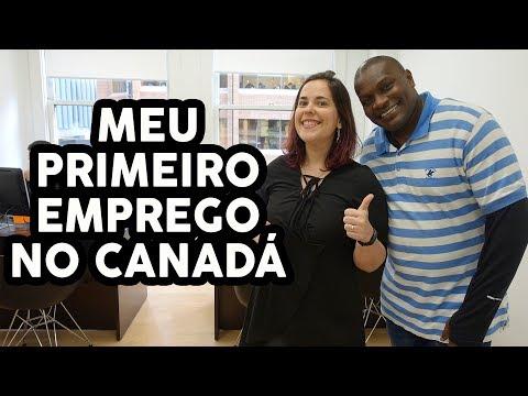 MEU PRIMEIRO TRABALHO NO CANADÁ - O vídeo das revelações!