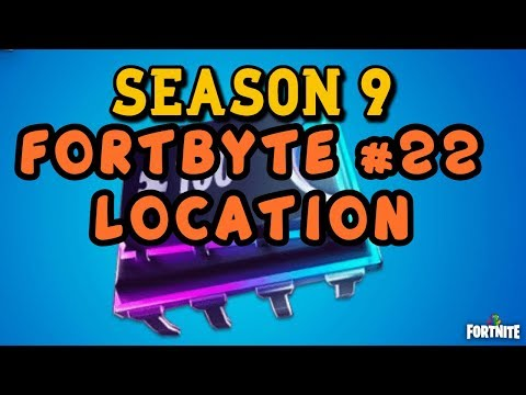 Fortnite - Fortbyte 22 Location Guide Rox Spray Underpass Location Guide - Season 9 Battle Royale