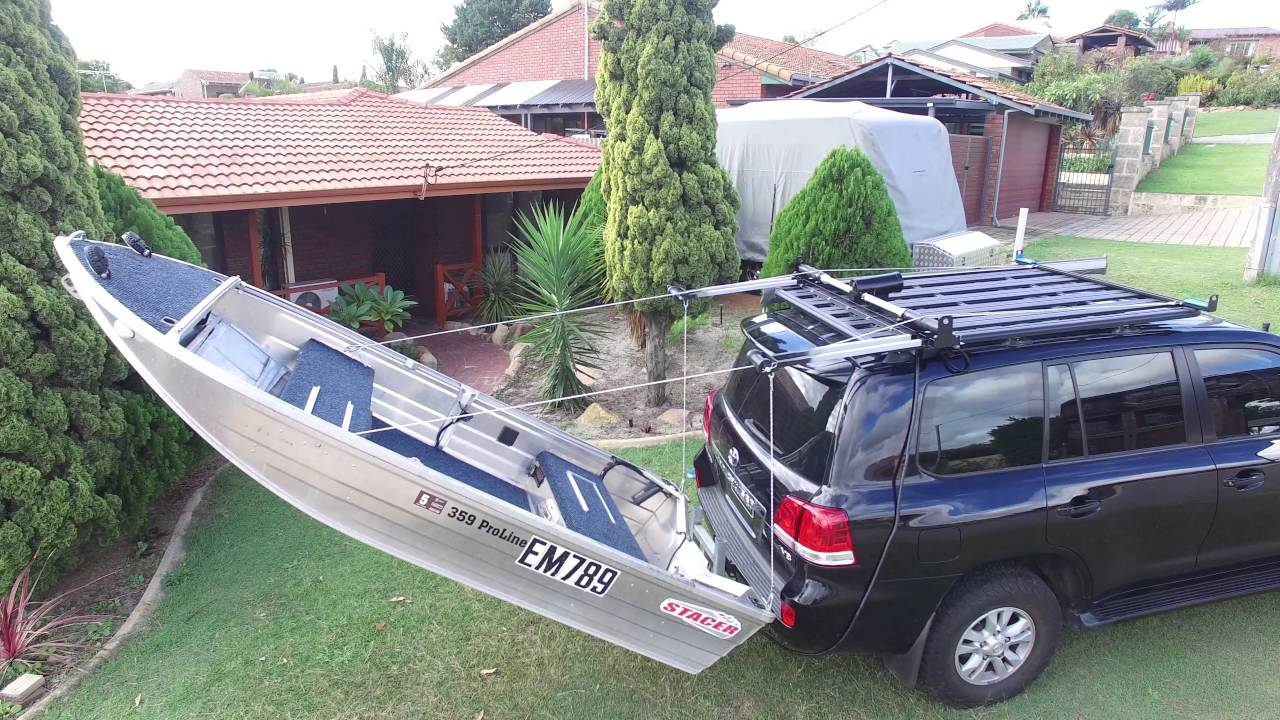 Home Made Boat Loader Youtube