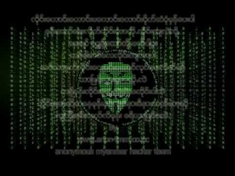 Anonymous Myanmar Hacker Message to Myanmar government