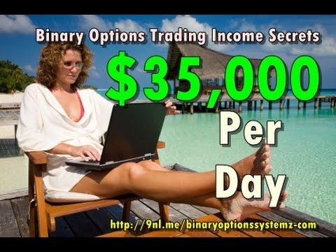Binary options trading income secrets