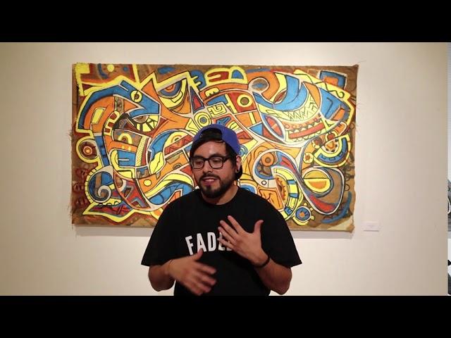 Bismark Alejandro Reyes Art Exhibition