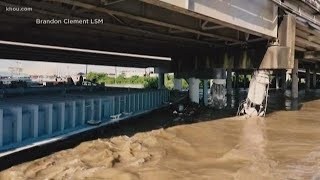 I-10 East shuts down after barges hit bridge