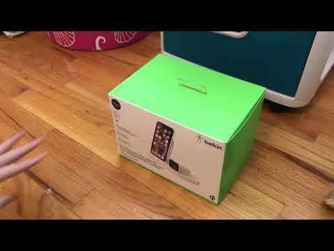 Belkin Boost UP Wireless Charging Dock For IPhone And Apple Watch / Unboxing Gone Wrong