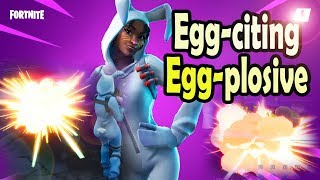 Egg-Citing Egg-plosive Easter Heroes in Fortnite STW | Bunny Brawler Dashing Hare