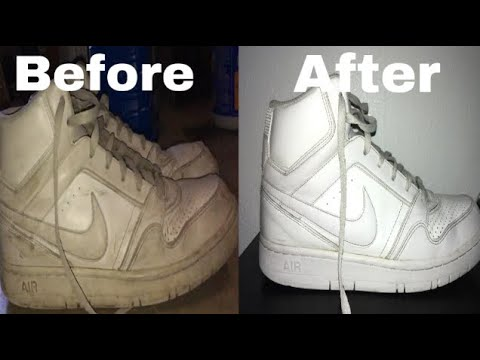 How to Clean Airforce Ones