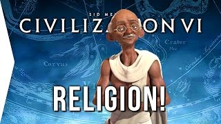 Civilization VI ► 10 Things on Religion & Religious Wars in Civ 6!