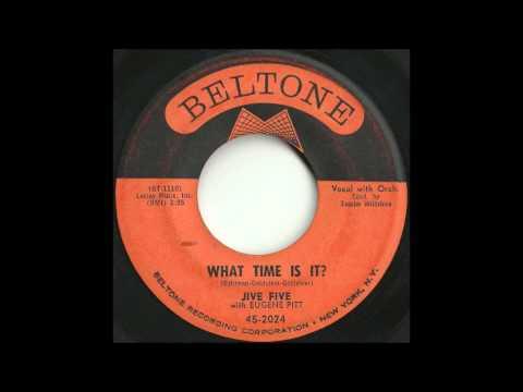 Jive Five - What Time Is It - Classic Brooklyn Doo Wop Ballad
