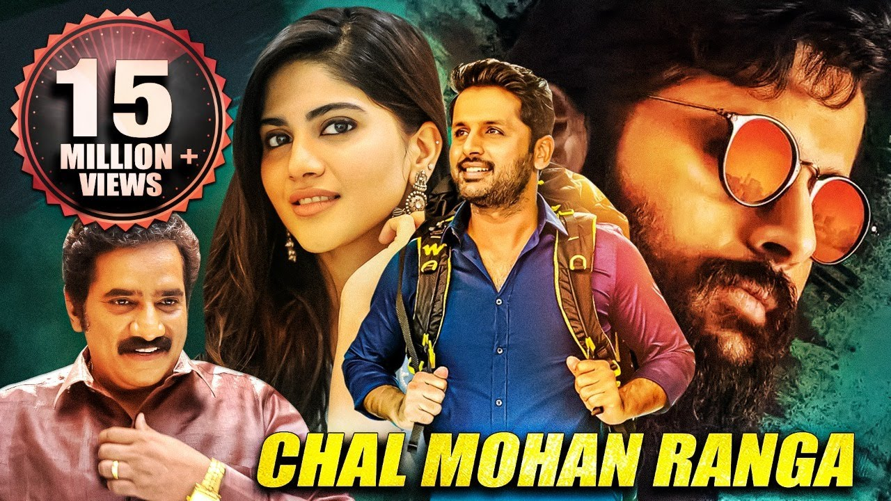 Chal Mohan Ranga   Nithin   South Indian Movies Dubbed in Hindi Full Movie   Romantic Comedy Movie