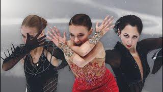 Чемпионат мира по фигурному катанию 2021 ДОЛГОЖДАННЫЙ Женщины Сборная России