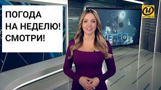 Погода на неделю 17-23 февраля 2020. Прогноз погоды. Беларусь | Метеогид