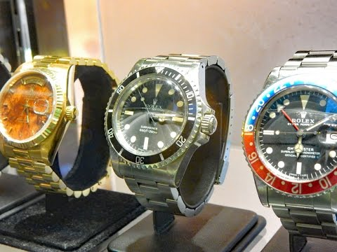 Some Rare Vintage Rolex & Tudor Watches In Hong Kong