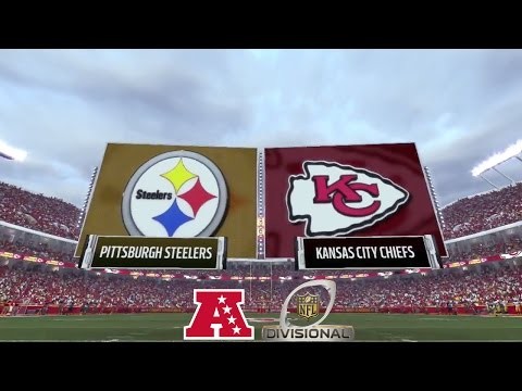 Madden 17: Pittsburgh Steelers Vs Kansas City Chiefs (2017 AFC Divisional Match-Up)