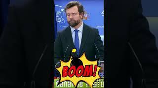 """¡BOOOM! IVAN ESPINOSA: """"Cuando gobierne Vox imperará la LEY y el ORDEN"""""""