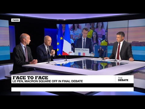 Face to Face: Le Pen, Macron square off in final debate (part 2)