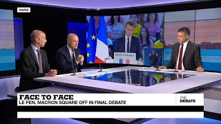 Face to Face  Le Pen, Macron square off in final debate (part 2)