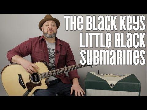 Black Keys - Little Black Submarines - Guitar Lesson - Acoustic Fingerpicking
