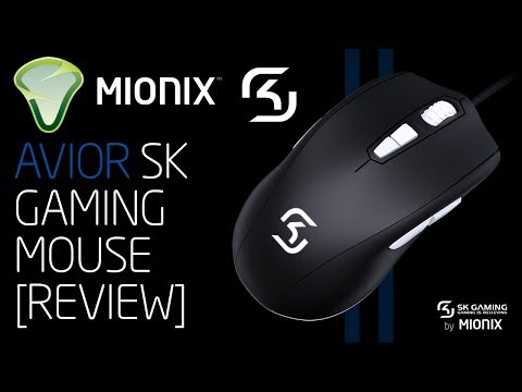 Mionix AVIOR SK Gaming Mouse Review (SK Gaming Edition)