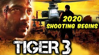 Salman-Katrina's TIGER 3 Shooting Begins In 2020 ?