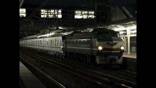 夜の営団9000系甲種輸送 想い出の鉄道シーン416