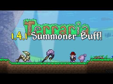 Terraria 1.4.1 - Are Summoners FINALLY Powerful?