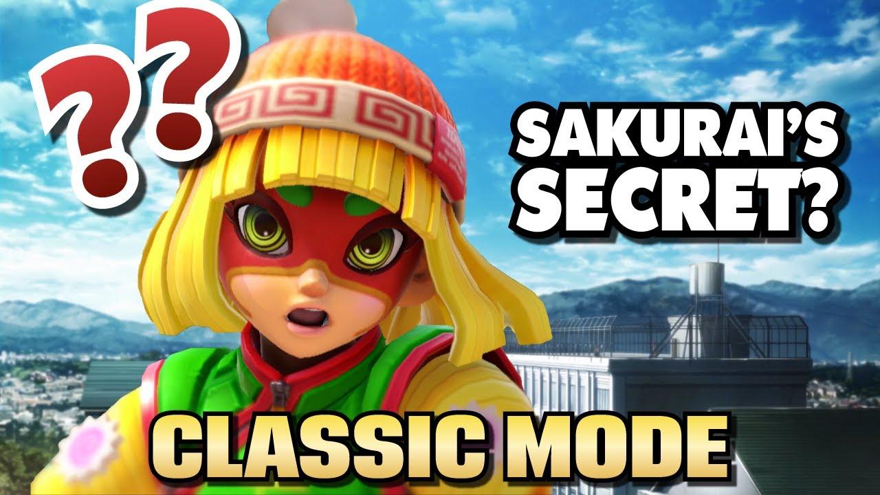 Sakurai's Secret in Min Min's Classic Mode?