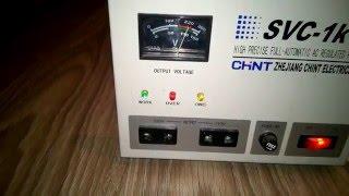 видео Однофазный стабилизатор напряжения SOLBY SVC-3000