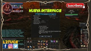 Lineage 2 H5 interface 2x1 [PARA HIGH FIVE]