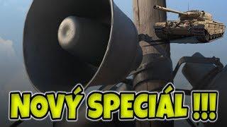NOVÝ SPECIÁL !!! Informační videjko z World of Tanks CZ
