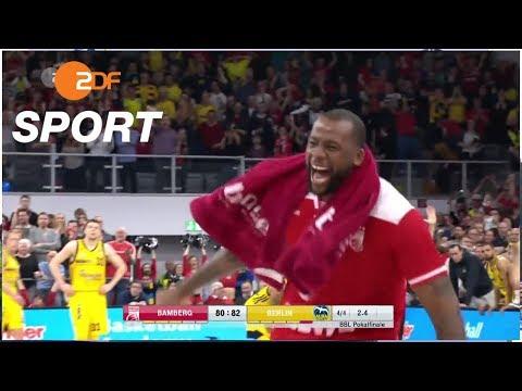 BBL Pokalfinale - Bamberg gewinnt im Herzschlagfinale | ZDF SPORTreportage