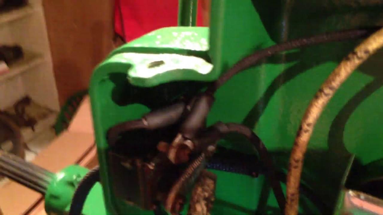 1940/41 john deere b tractor restoration pt 75 ( electrical wiring cables  generator etc)