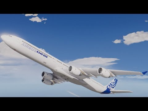 Airbus A340 International Passenger  Documentary