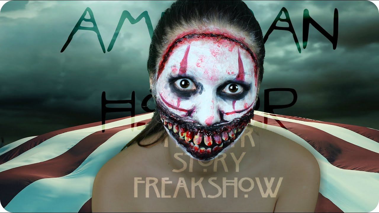 American Horror Story - Twisty the Clown I Halloween Makeup Tutorial