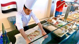 Египет за 200 Шведский стол в отеле La Rosa Hotel Чем нас кормят по системе все включено