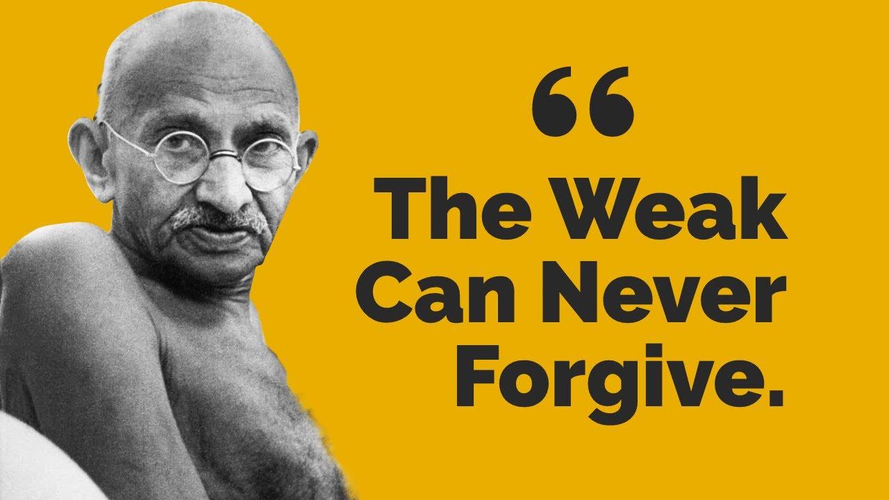 Citaten Gandhi : Top inspiring gandhi quotes youtube