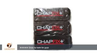 chapfix lip balm for men spf 15 with beeswax and aloe mint 3 pack   review test