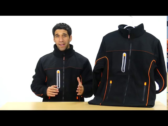 Product Video - RefrigiWear - 9740R - PolarForce Hybrid Fleece Jacket⠀