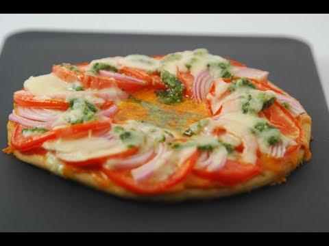 Tomato Pesto Pizza  Cooksmart  Sanjeev Kapoor Khazana