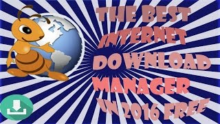 ant download manager software for download very faster than internet download manager in 2016