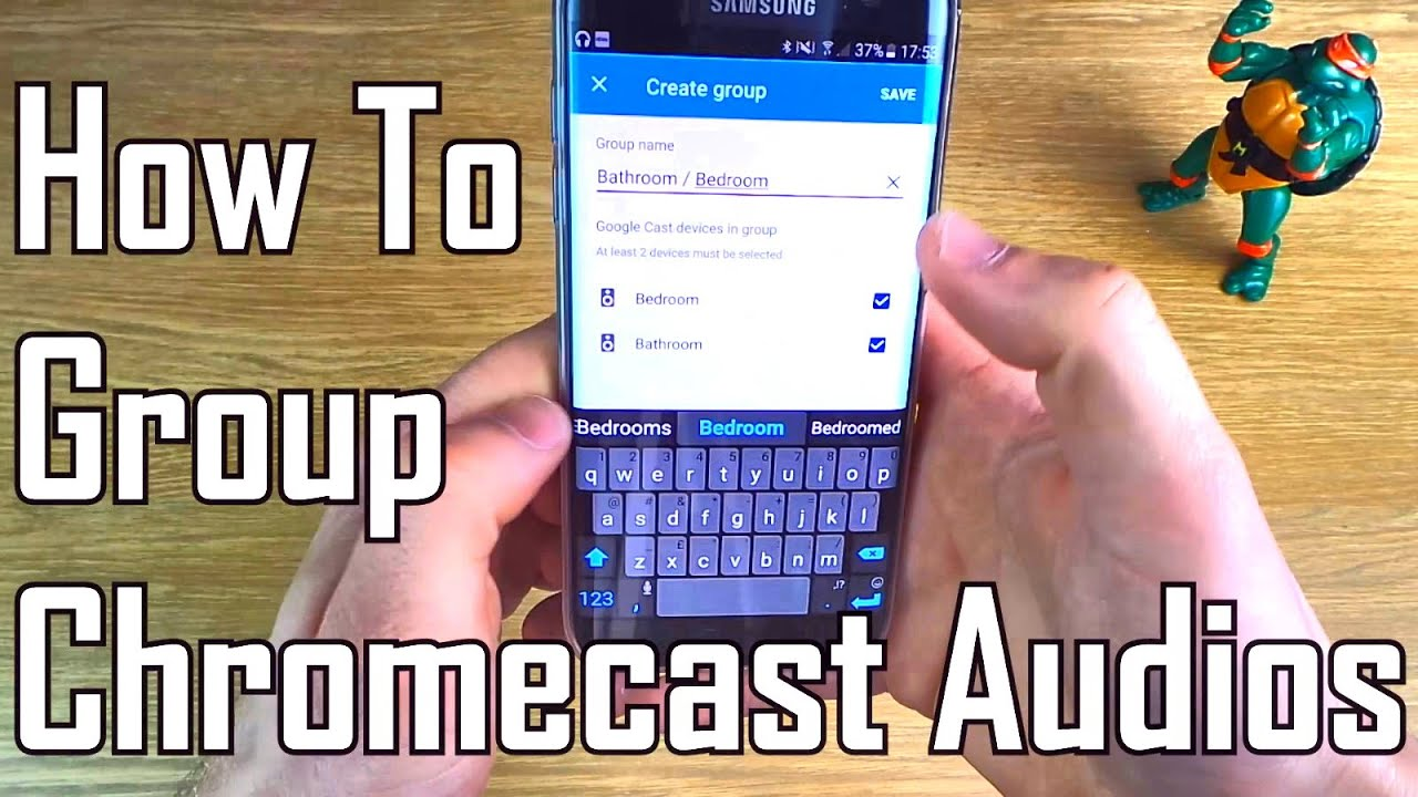 How to Group Chromecast Audios to stream Music to more than one device / room. Sonos Alternative!