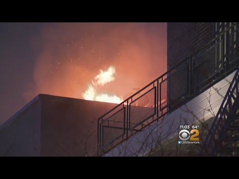 Dozens Of Families Displaced After Fire Tears Through Elmhurst Apartment Building
