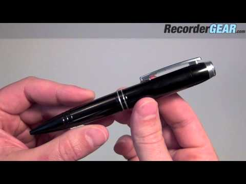 142 Hour Digital Voice Recorder Pen - Spy Audio Recording Pen