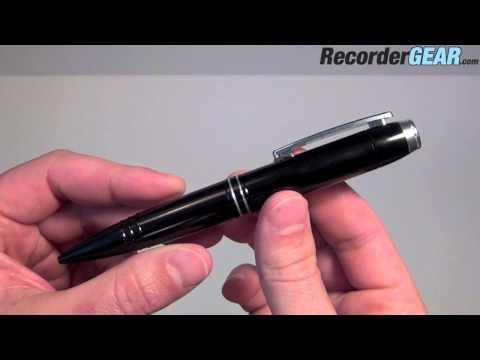 142 Hour Digital Voice Recorder Pen - Spy Audio Recording Pen