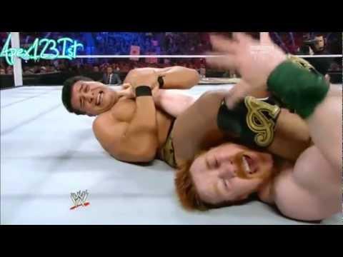 WWE Night Of Champions 2012 Sheamus Vs Alberto Del Rio For World Heavyweight champion Highlights.