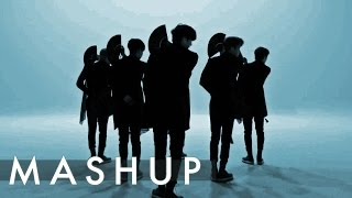 VIXX /MONSTA X /NU'EST /f(x) – Shangri-La /Beautiful /Love Paint /4 Walls MASHUP