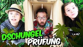 DSCHUNGELCAMP 2019 - Dschungelprüfung #1 - What's in the Box - Lulu & Leon